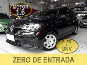 Renault Logan 1.6 Expression Hi-power 4p / Flex Com Gnv