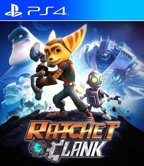 Ratchet & Clank Ps4 Mídia Física -caixa Plástica- Português