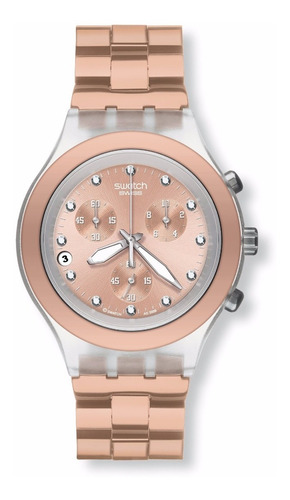Relógio Swatch Full Blooded Caramel Svck4047ag