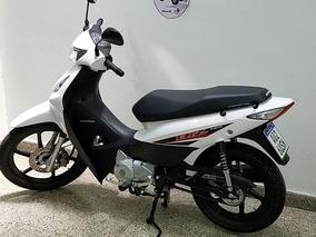 Jm-motors Honda Biz 125 Modelo 2017 Solo 100 Km Radicada Cap