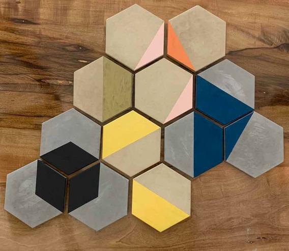 Revestimientos Hexagonales (mosaicos Para Piso O Pared)