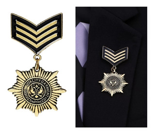 Prendedor Insignia Militar