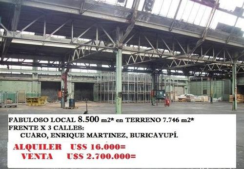 Prado: Local 8.500 M2  Frente X 3 Calles