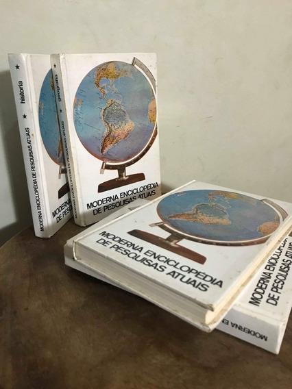 Moderna Enciclopédia De Pesquisas Atuais - 4 Vol