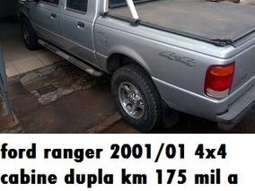Ford Ranger 2001/01 Cabine Dupla 4x4
