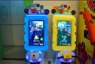 Arcade Blond Racing Car