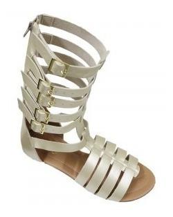 Sandálias Rasteiras Gladiadoras Adulta