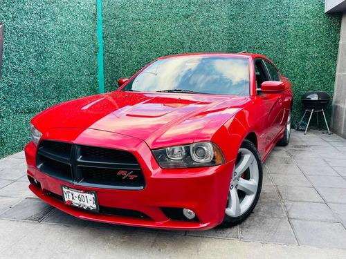 Imagen 1 de 15 de Dodge Charger 2013 5.7 Rt Aa Ee Ba Abs Gamuza/piel Qc V8 At