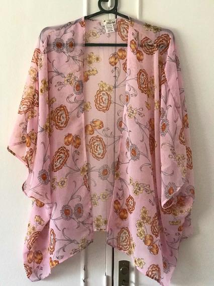 Kimono The Outfit En Gasa Talle Único De Usa - 7789