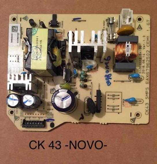 Placa Da Fonte Som Lg X Bom Modelo Ck 43