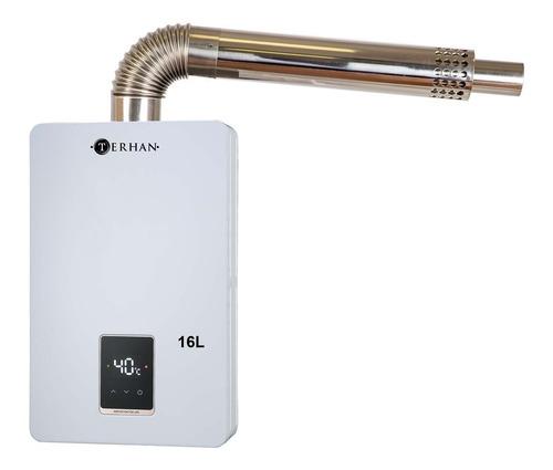 Calentador Instantáneo A Gas Terhan 16 L Forzado Balanceado