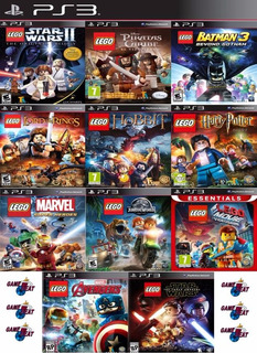 Lego Ps3 Collection | Digital Español Elegí 3 Juegos Lego 2p