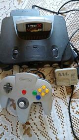 Nintendo 64 Com 1 Controle Completo Funcionando 100%