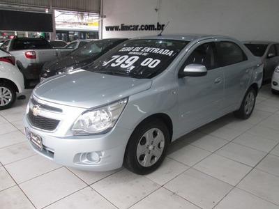 Chevrolet Cobalt 1.4 Lt Flex Completo Zero De Entrada
