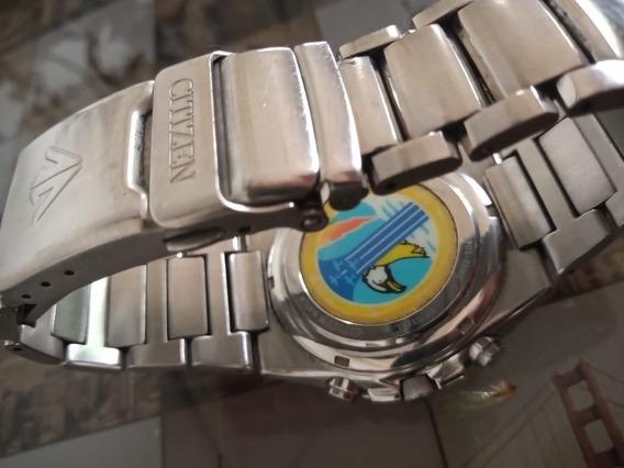 Relógio Citizen Skyhalk Esquadrilha Da Fumaça Tz10146t