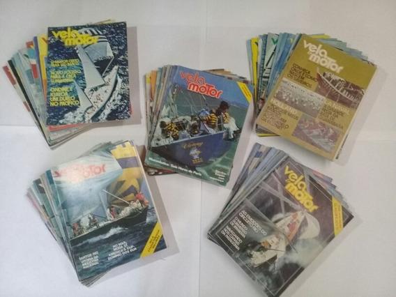 Coleção Da Revista Vela E Motor D Ano 1977 A 1982 São 64revi