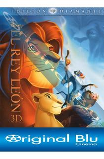 El Rey Leon 3d - Edición Diamante - Blu Ray 3d Original