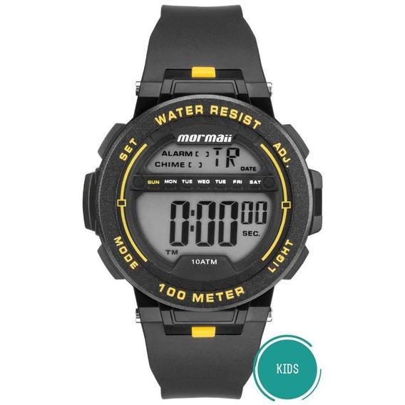 Relógio Mormaii Masculino Ref: Mo9810/8y Digital Infantil
