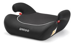 Assento Infantil Preto Para Auto 22 A 36kg Turbooster Weego