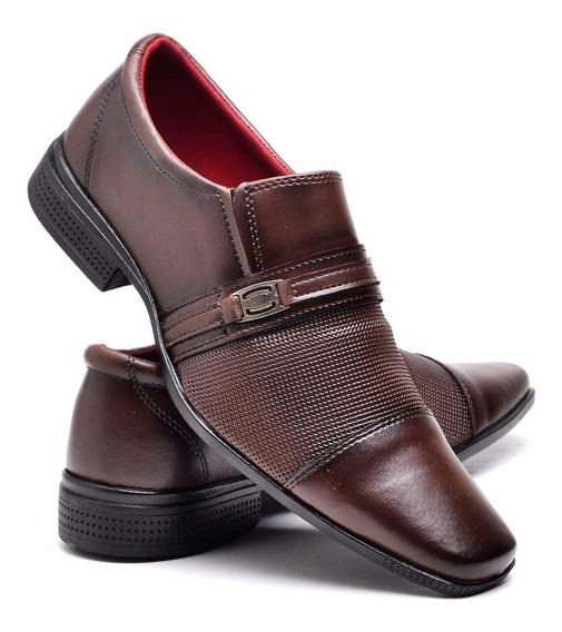 Sapato Masculino Social De Calçar,com Detalhe