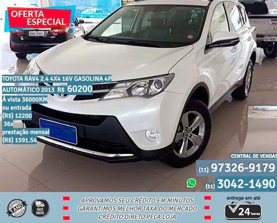 Toyota Rav4 2.4 4x4 16v Aut 4p