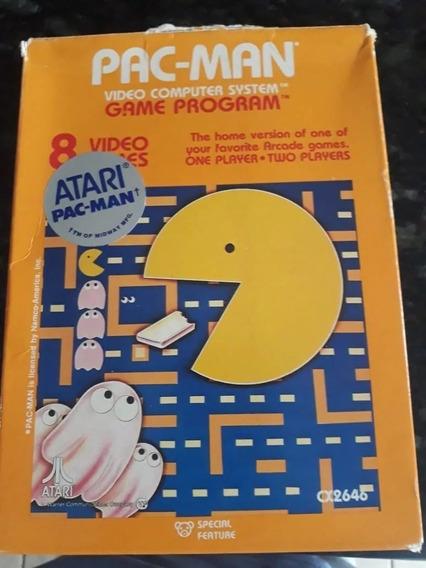 Pac Man Caixa Atari