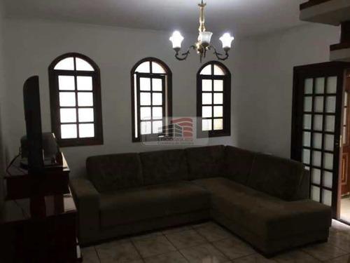 Imagem 1 de 28 de Sobrado Com 3 Dorms, Assunção, São Bernardo Do Campo - R$ 620 Mil, Cod: 527 - V527