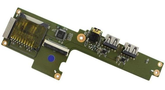 Placa Auxiliar Usb / Botão Power Lg 15u340 (12382)
