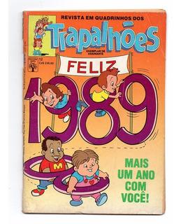 Hq Trapalhoes - Nº 12 - Editora Abril - 1988