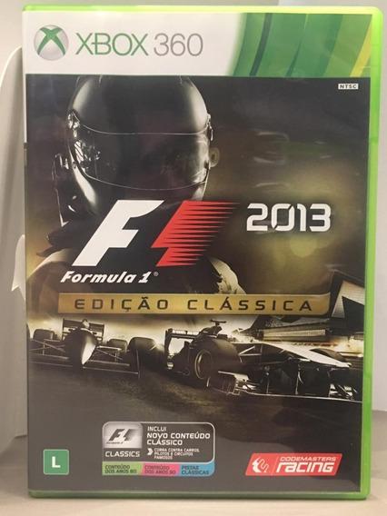 Formula 1 - F1 2013 Edição Clássica Xbox 360 Midia Fisica Usado