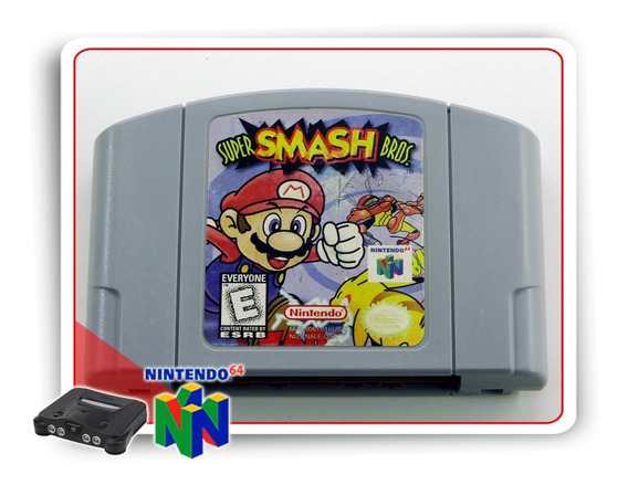 Super Smash Bros Nintendo 64 Original - N64