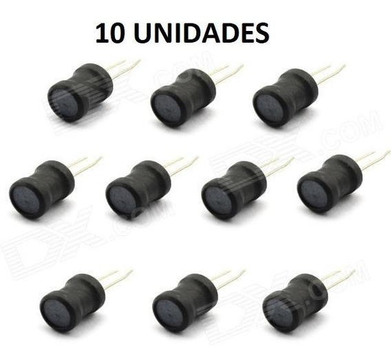 10 Unid. Indutor 1.5mh 1500uh 152k 0608 6x8mm Pk0608