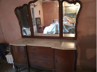 Juego Dormitorio Antiguo Estilo Luis 15