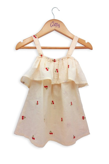 Blusa Cereza Dulce / Sweet Cherry Nena Witty Girls