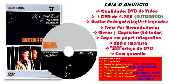 Filme Dvd Cortina Rasgada 1966 Alfred Hitchcock Dublado Leg