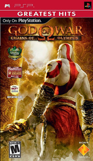 God Of War Chains Of Olympus Psp Nuevo Y Sellado