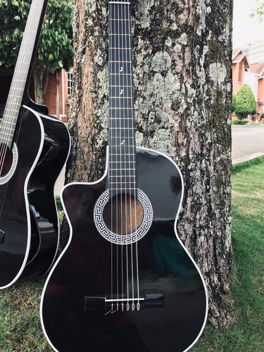 Guitarras Acusticas Adultos+forro+tutorial+correa Manito
