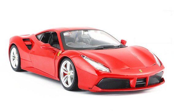 Maisto 1 24 Ferrari 488 Gtb Diecast Metal Maisto Assemblylin