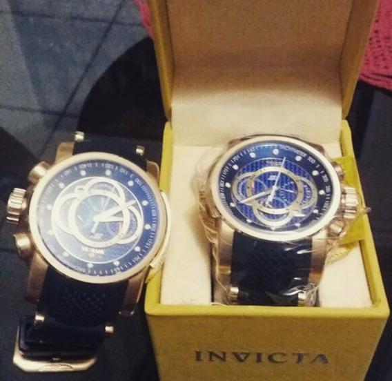 Relógio Invicta- Banhado A Ouro. Original