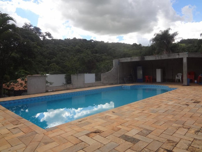 Chácara Com 3 Dormitórios À Venda, 3391 M² Por R$ 650.000 - Rio Abaixo - Atibaia/sp - Ch0116
