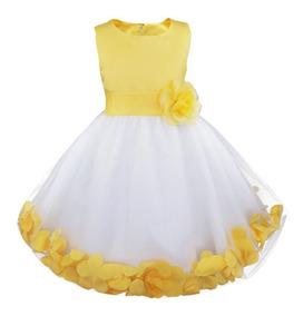 Vestido Festa Infantil Casamento Daminha Florista Marsala Az