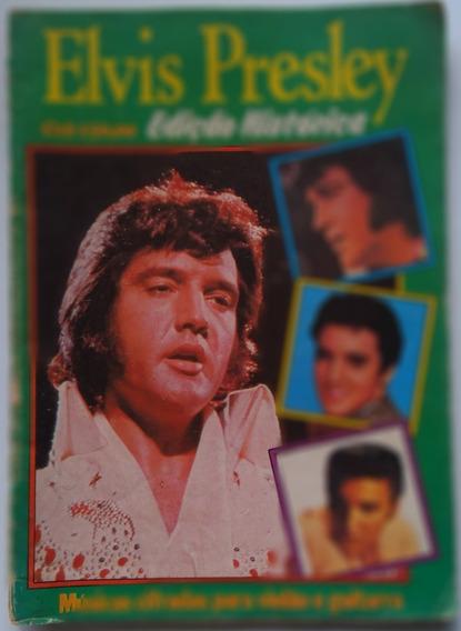 Elvis Presley Revista Músicas Cifradas Violão,guitarra.