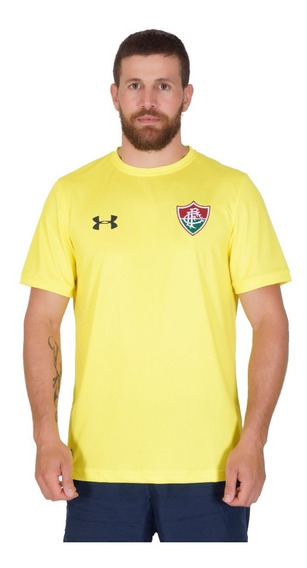 Nova Camisa Fluminense Goleiro Amarela Under Armour 2018