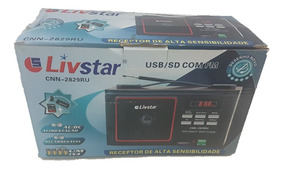 Radio Livstar Cnn-2829 Usb Sd Fm Ac/dc Bivolt