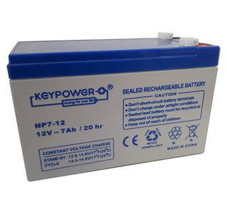 Bateria 12v 7ah Para Ups Y Alarmas Domiciliarias Adt X28 Dsc Alonso Cem Hexacom Marshall 12 Volt 7 Amp 7a Recargable