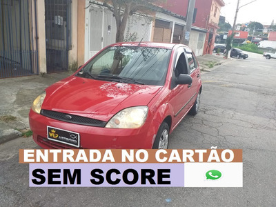 Ford Fiesta Hatch Financio Sem Score E Baixa Entrada