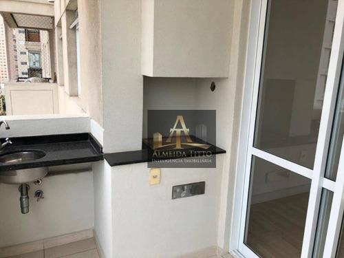 Excelente Apartamento Para Locação No Condomínio Jardim De Monet - Alphaville - Confira! - Ap2960