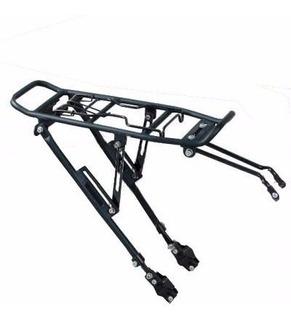 Porta Equipaje De Bicicleta Aluminio Reforzado Al Cuadro