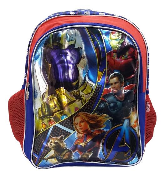 Mochila Thanos Primaria C Iron Man Capitana Thor Avengers Andgame Rocket Raccoon