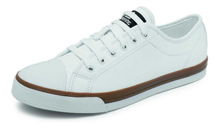 Tenis Para Caballero Playing G-032 Blanco 25-29 Enteros